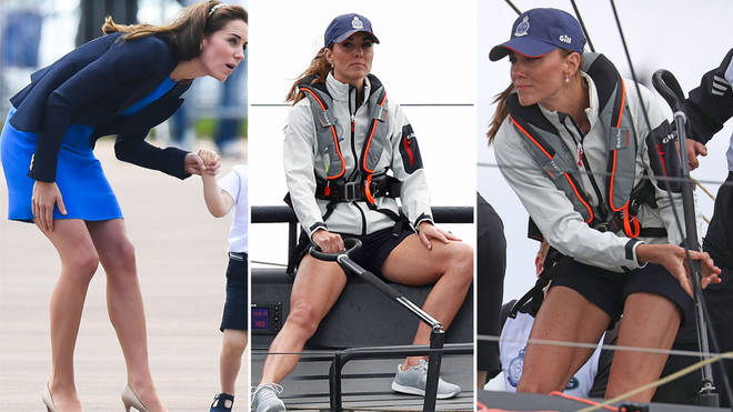Kate Middleton's incredible legs have always been the talk of royal fans