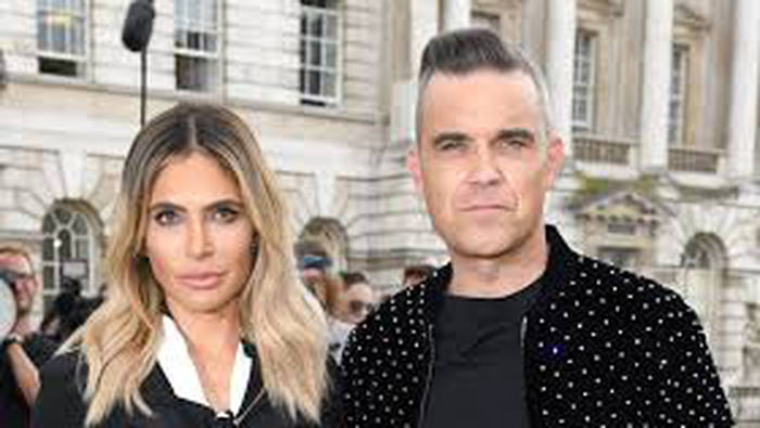 Family first: Robbie and Ayda Williams will travel to Hawaii for