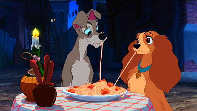 Disney Release First Look At Lady And The Tramp Dogs And Cast Heart