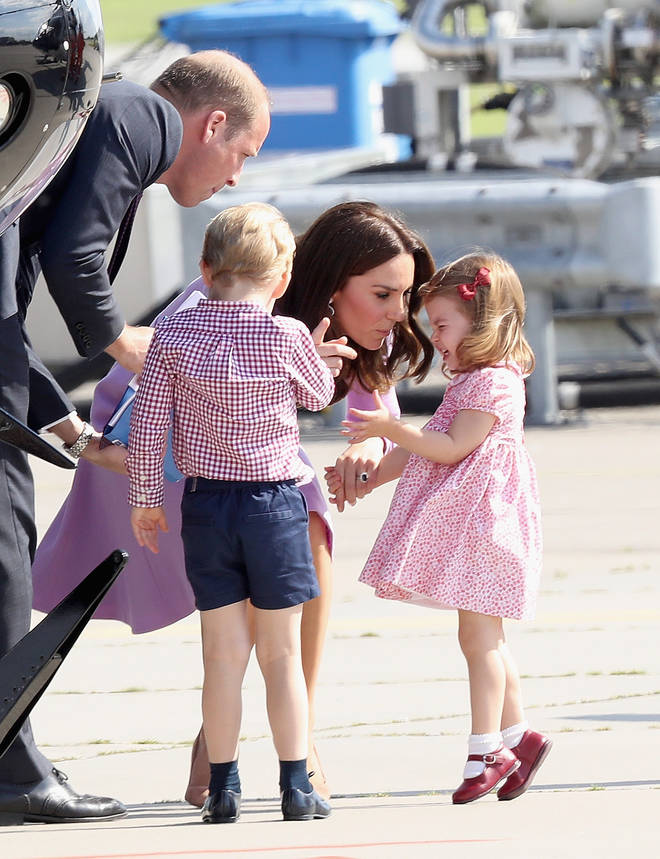 Kate Middleton had to be firm with her daughter back in 2017 as she had a meltdown in front off the cameras