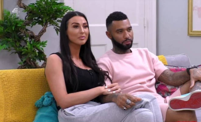 Alice and Jermaine are receiving couples therapy on Celebs Go Dating