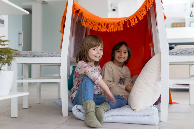 Six inventive den ideas to create with your kids - Heart