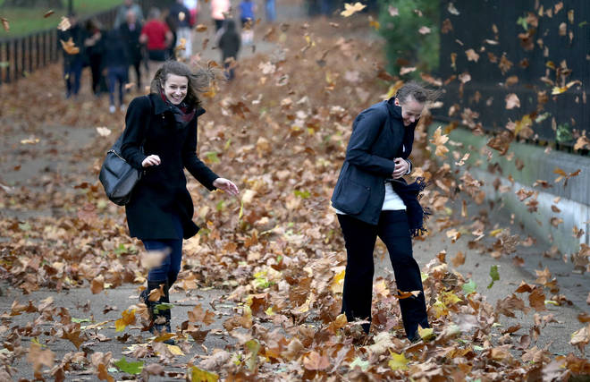 By Friday, weather is said to start feeling more autumnal