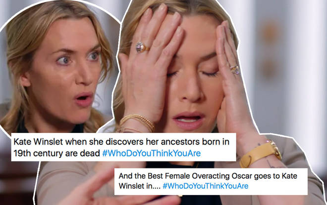 Kate Winslet was very dramatic on her episode
