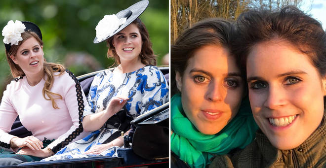 Eugenie has revealed the adorable name she calls her sister