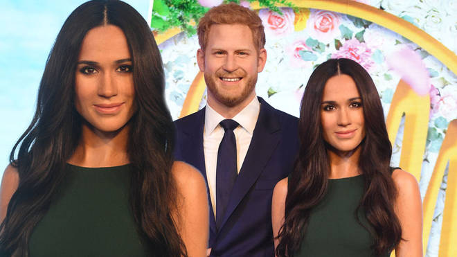 Meghan and Harry have been split up at the London Madame Tussauds