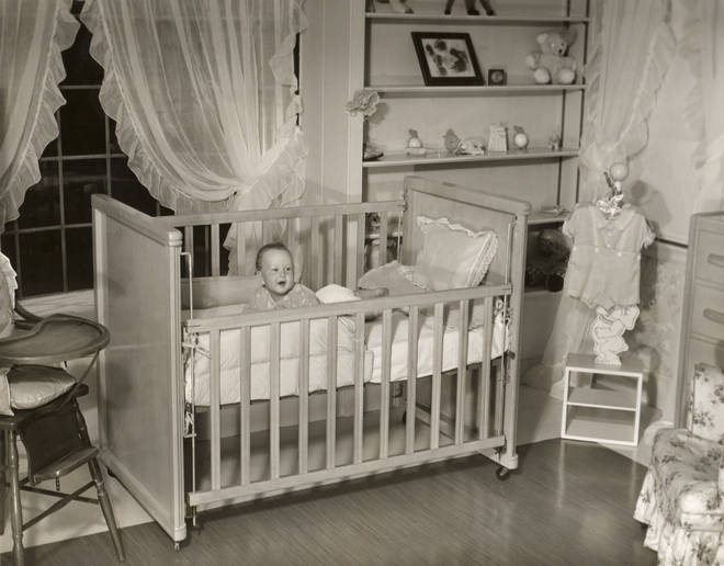 The routine recommends putting your baby to bed at 11pm (stock image)