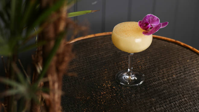 This daiquiri has a truly authentic tropical taste