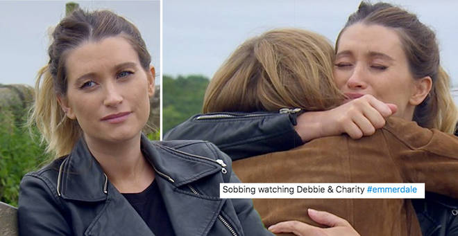 Fans were in tears over Debbie's exit