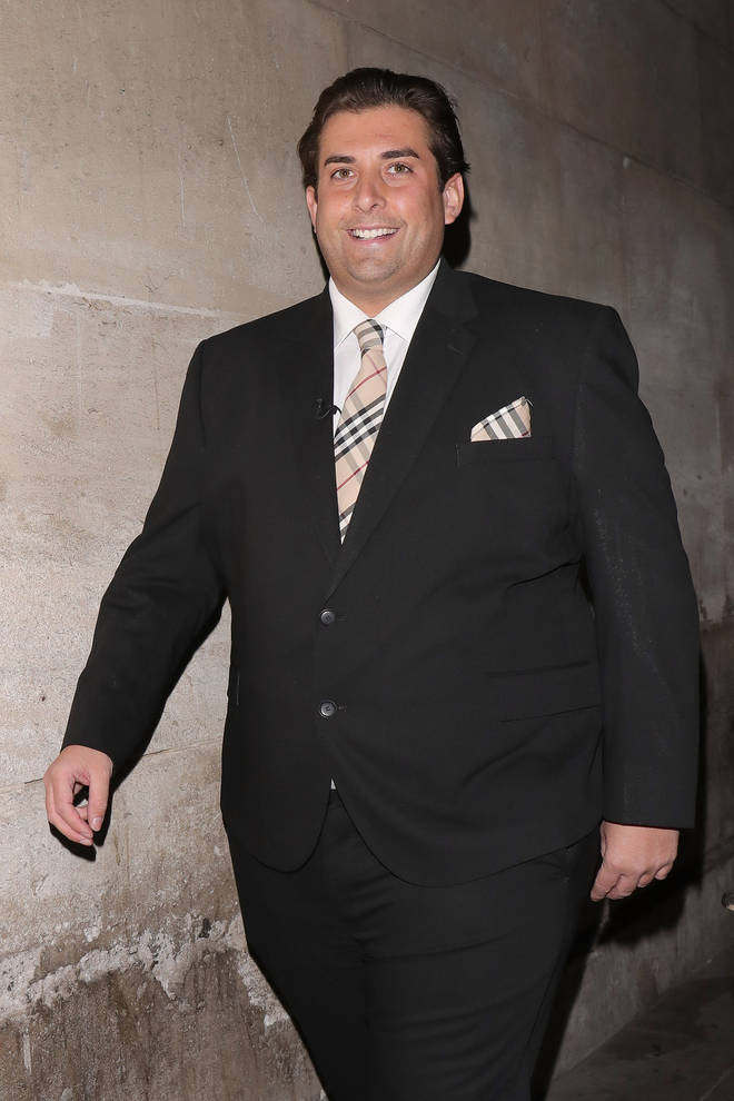 James Argent vowed to loose weight earlier this year