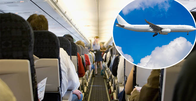 The best place to sit on a plane if you're a nervous flyer has been revealed