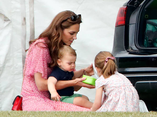 Kate Middleton is currently a mother to three; George, Charlotte and Louis