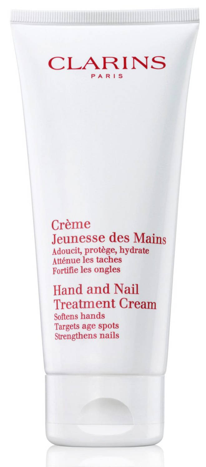 Clarins' treatment is loved by the Queen to keep her hands soft