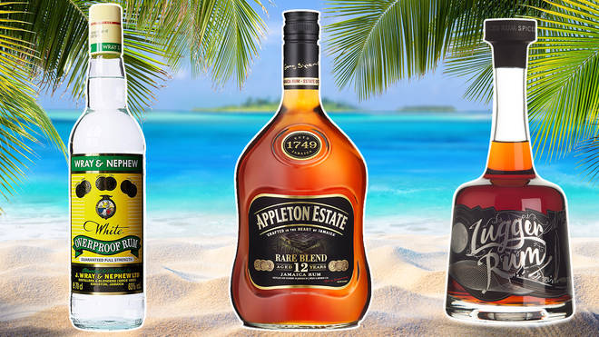 Rum, a traditional Jamaican spirit, is brewed from sugar cane