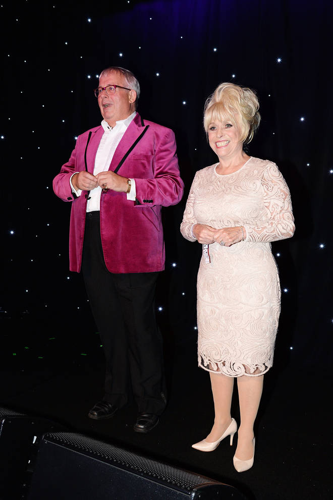 Christopher Biggins said that Barbara often asks the same question over and over again