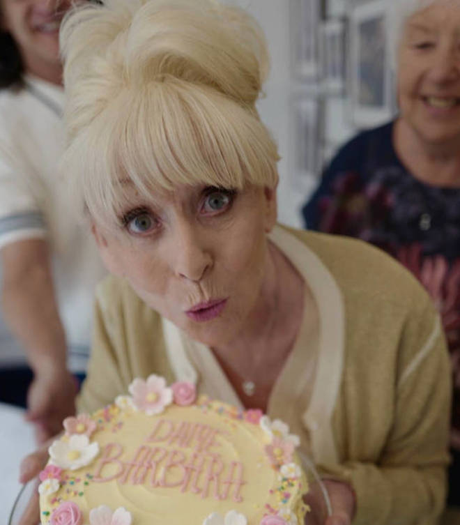 Barbara Windsor was diagnosed in 2014, but only went public with the news last year