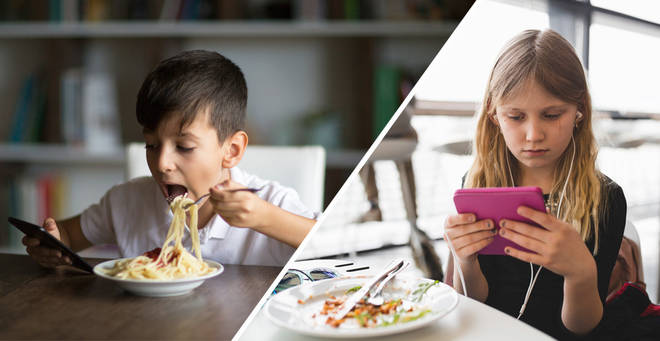 One person has argued iPads should be put away at restaurants