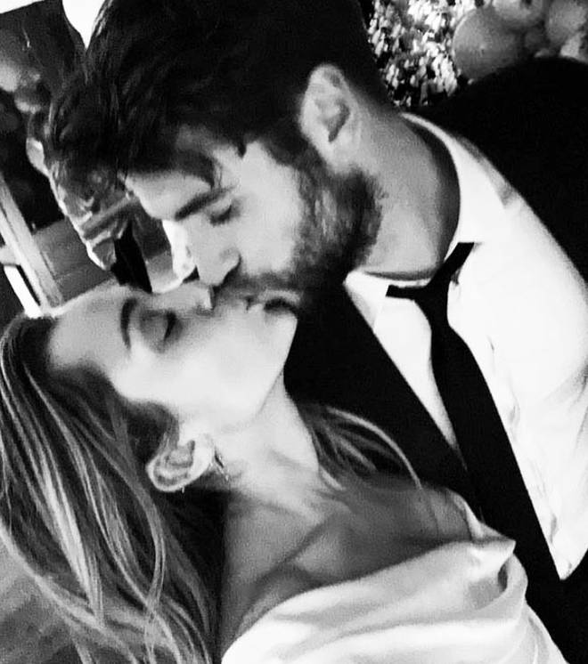 Miley and Liam confirmed their split this week with separate statements