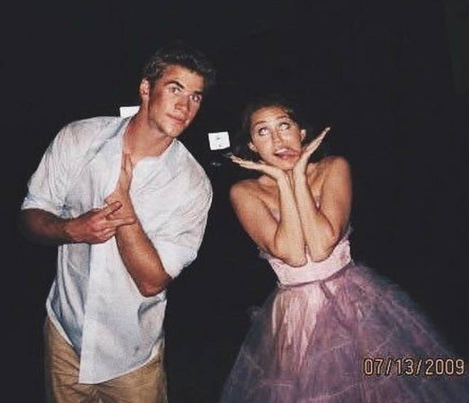"Miley sings about ""not being 17"" anymore, which is how old she was when she first met Liam on the set of The Last Song"