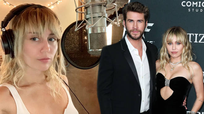 Miley Cyrus has dropped song Slide Away following her split from Liam