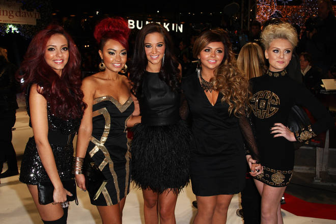 Tulisa was Little Mix's mentor when they were X Factor contestants