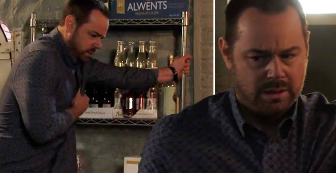 EastEnders fans fear for Mick Carter as Danny Dyer's character collapses AGAIN