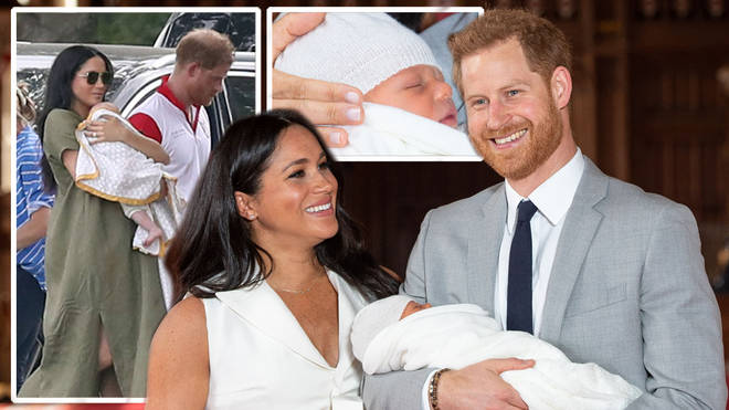 Meghan Markle and Prince Harry's son Archie has 'ginger ...