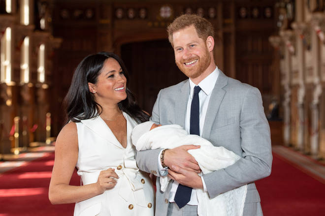 Meghan and Harry were unsure who Archie took after when he was first born