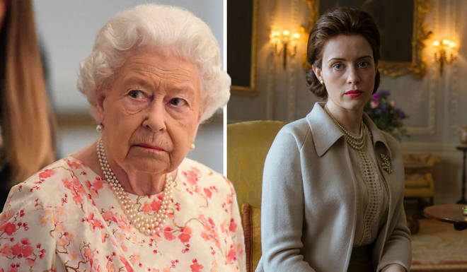 The Queen was left far from impressed by one scene in the second series of The Crown
