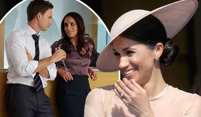 The Suits team paid tribute to the Duchess of Sussex with a hilarious joke in the final series