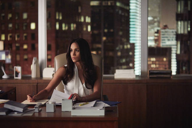 Meghan Markle left Suits in series seven after going public with her engagement