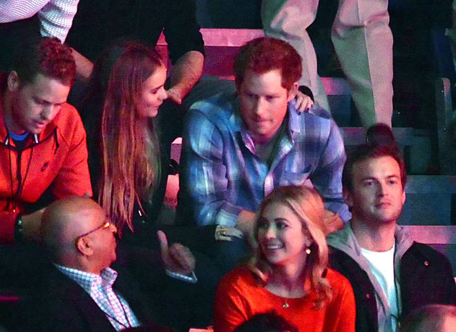 Prince Harry and Cressida Bonas were rarely photographed together