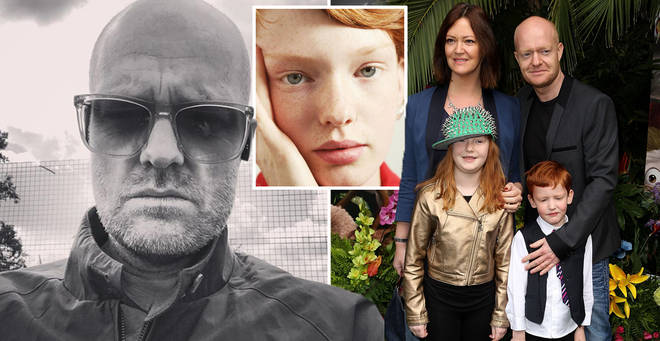 Jake Wood has shared a sweet photo of his daughter