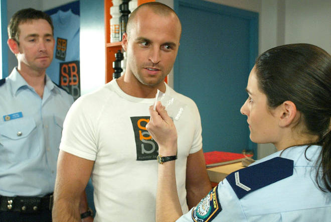 Ben played bad boy Jesse in Home and Away