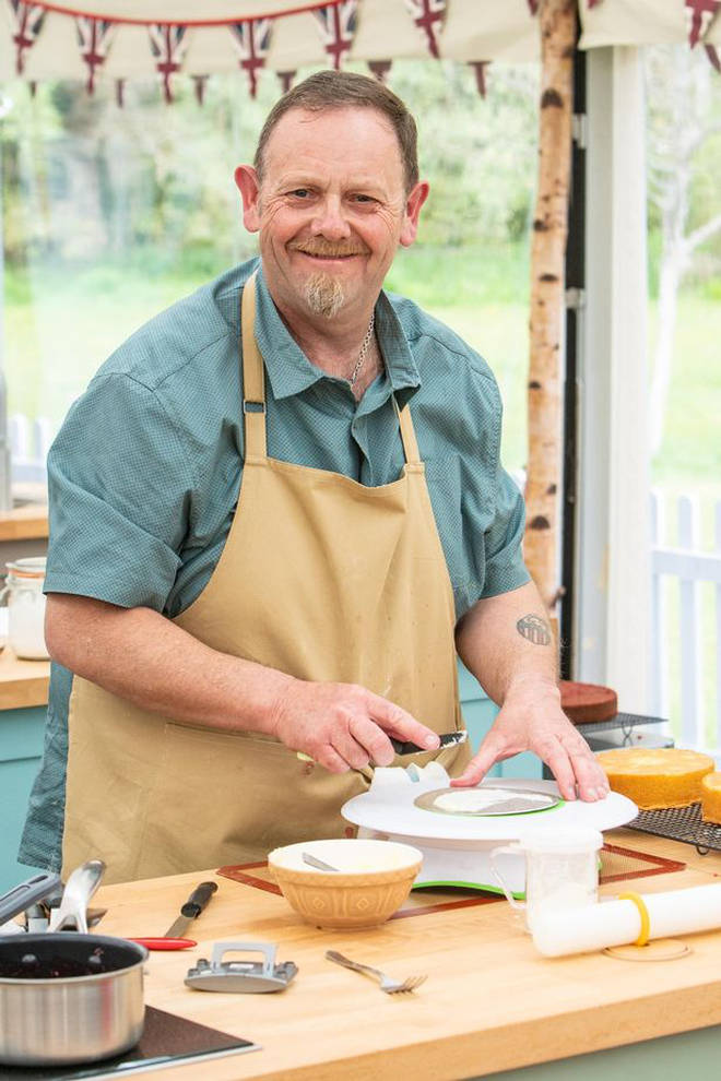 Bake Off contestant Phil