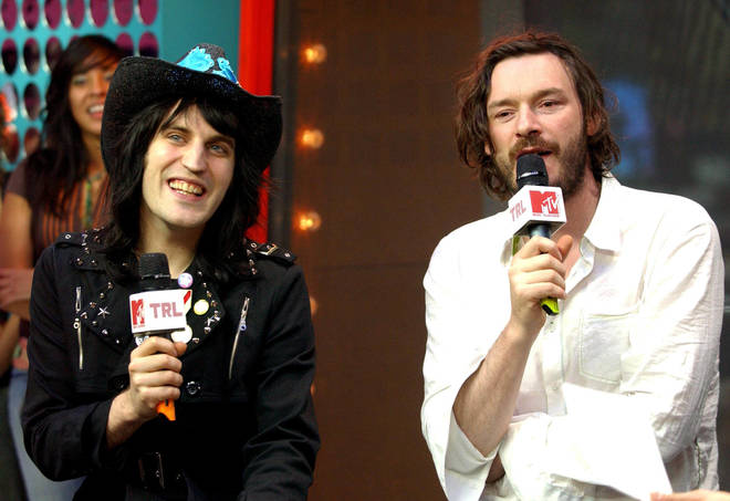 Noel Fielding and his comedy partner Julian Barrett