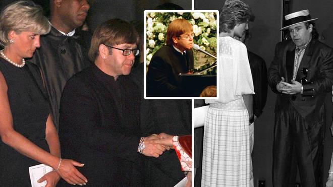 Inside Elton John and Princess Diana's close friendship