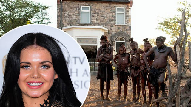 Scarlett Moffatt has moved her family home to the African wilderness