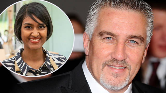 Paul Hollywood exchanged tweets with Bake Off contestant Priya O'Shea
