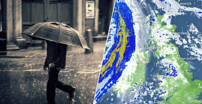 Brits will be hit by gale force winds today
