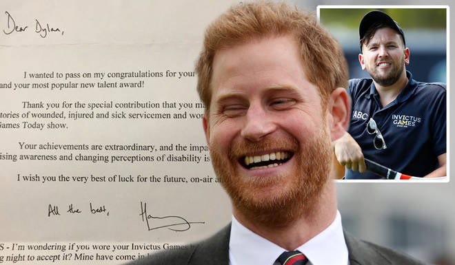 Prince Harry's cheeky side has been revealed again