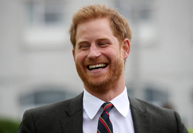 Prince Harry joked that the speedos helped him stay cool in the heatwave