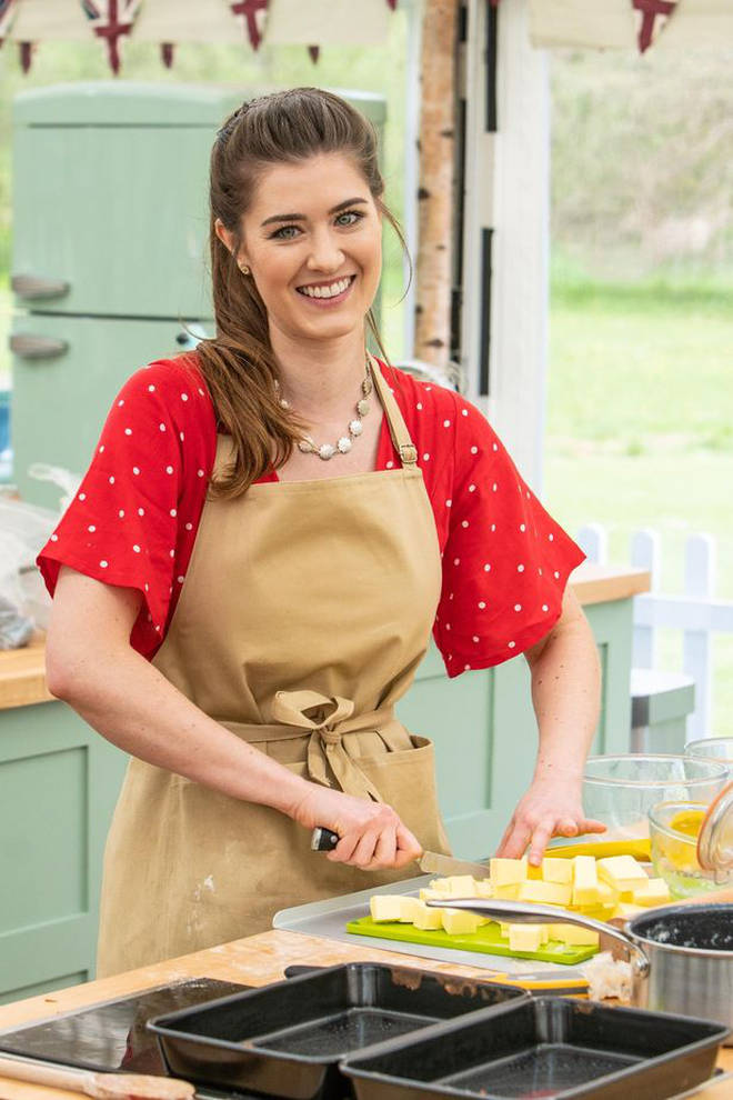 Alice has been tipped to win Great British Bake Off