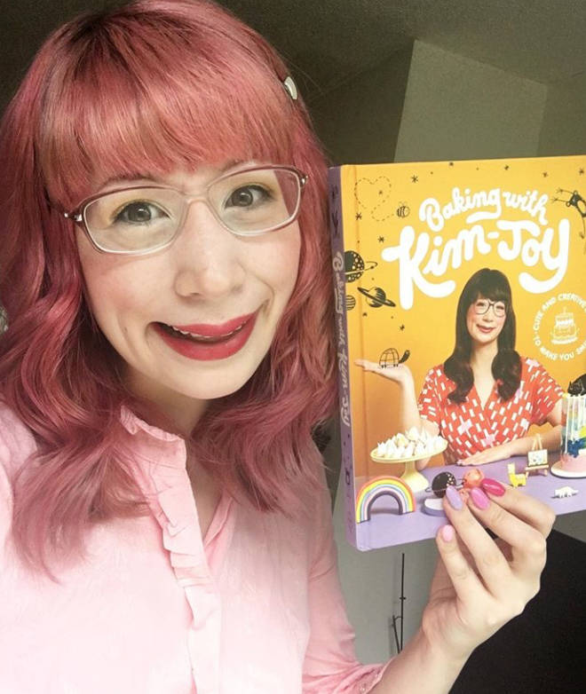 Kim-Joy has released her first baking book this year