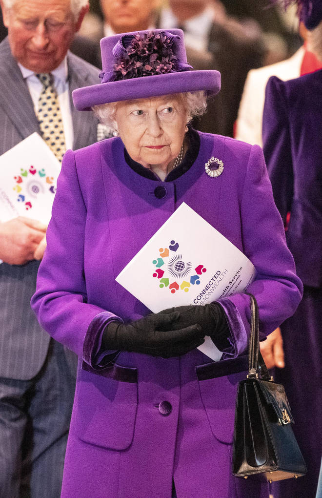 The Queen is always seen in bright colours