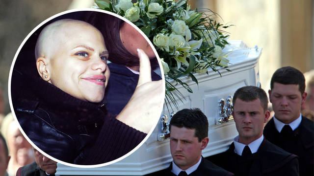 Jade Goody passed away of cervical cancer