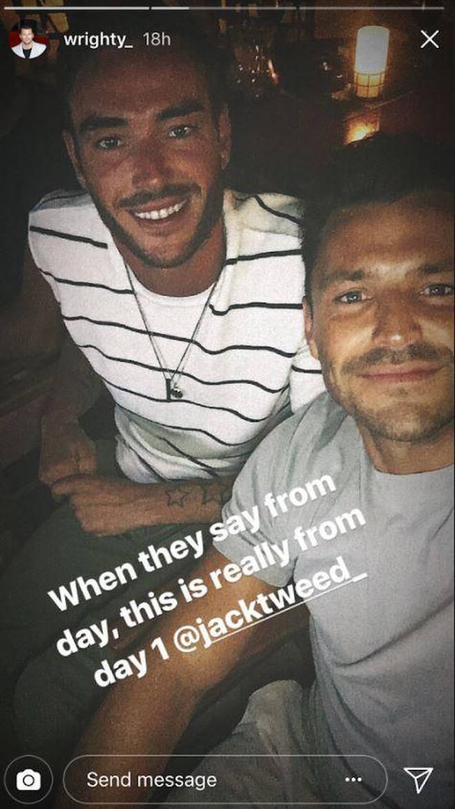 The pair were pictured together last year on a Spanish break
