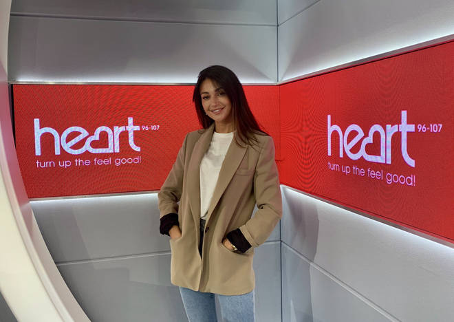 Michelle visited the Heart studios