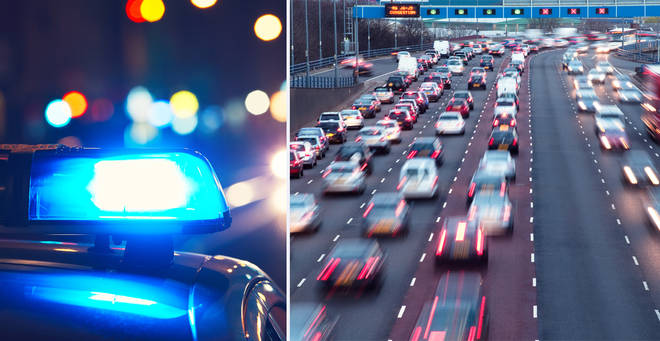 The boy drove the car for miles before being picked up by police (stock images)