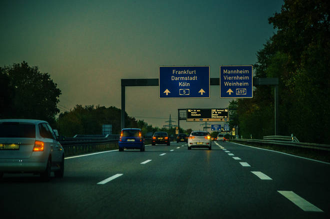 Many German Autobahns don't have a speed limit